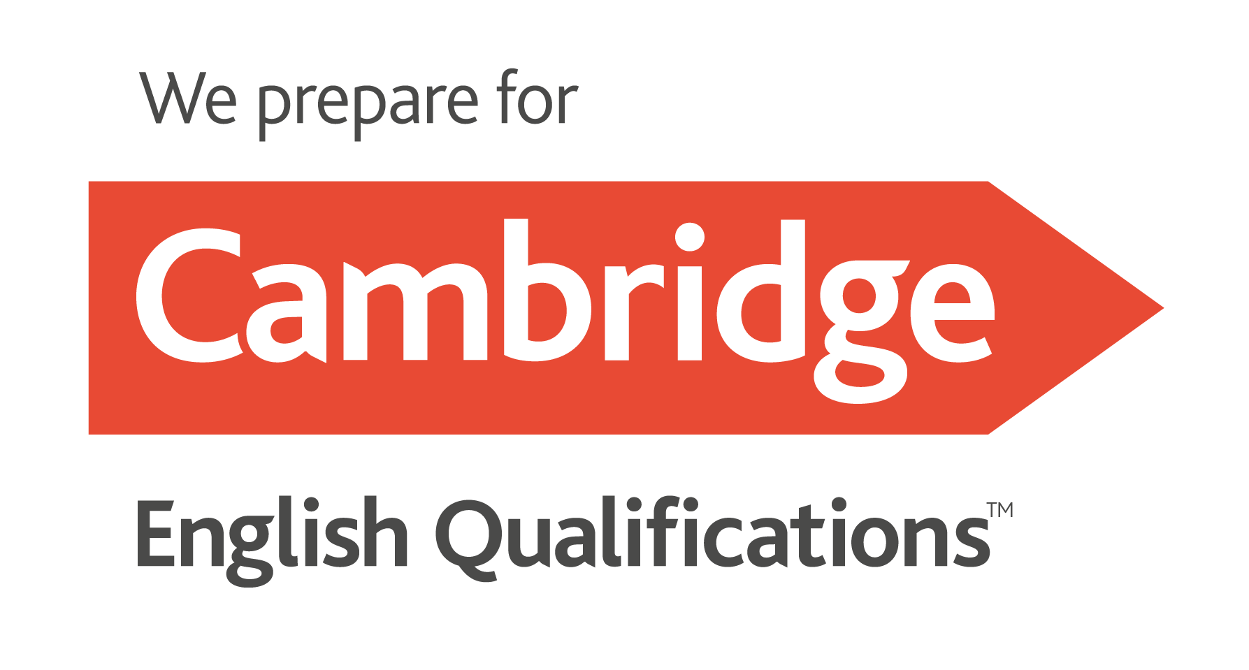 We prepare for <strong>Cambridge</strong> English Qualifications
